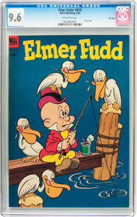 Four Color #470 Elmer Fudd (Dell, 1953) CGC NM+ 9.6 Off-white pages