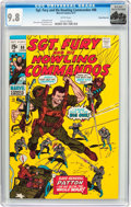 Bronze Age (1970-1979):War, Sgt. Fury and His Howling Commandos #88 Rocky Mountain Pedigree (Marvel, 1971) CGC NM/MT 9.8 White pages....