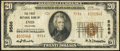 National Bank Notes:Oklahoma, Enid, OK - $20 1929 Ty. 2 The First NB Ch. # 9586. ...