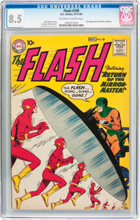 The Flash #109 (DC, 1959) CGC VF+ 8.5 Off-white to white pages