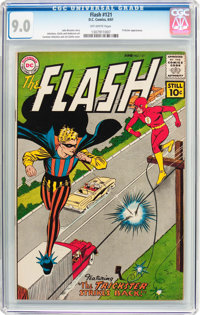 The Flash #121 (DC, 1961) CGC VF/NM 9.0 Off-white pages