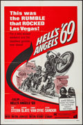 "Movie Posters:Exploitation, Hell's Angels '69 (American International, 1969). One Sheet (27"" X41""). Exploitation.. ..."