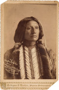 Photography:Cabinet Photos, Chief Young Man Afraid of his Horses Cabinet Photo. ...