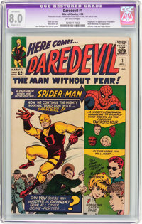 Daredevil #1 (Marvel, 1964) CGC Apparent VF 8.0 Off-white pages