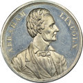 U.S. Presidents & Statesmen, 1860 Abraham Lincoln Campaign Medal, Dewitt AL-1860-12, MS64Prooflike NGC....