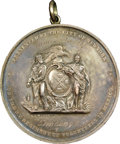 Miscellaneous Medals and Tokens, (1848) New York Regiment of Volunteers in Mexico, MS61 NGC. Silver. Presented to First Lieutenant Israel Miller. ...
