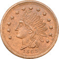 Civil War Merchants, 1863 Fred'k .C. Blome, Dry Goods, Detroit, MI, Fuld-225J-1a, R.6,MS65 Red and Brown NGC....