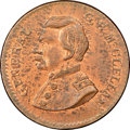 Civil War Merchants, Undated (1861-1865) Jas. Brennan Stamps, New York, NY, Fuld630I-1a, DeWitt-GMcC-1864-35C, R.3, MS63 Red and Brown NGC...