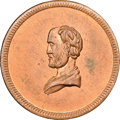 Civil War Merchants, 1863 John Stanton, Cincinnati, OH, Fuld-165FX-11a, R.8, MS65 Redand Brown NGC....