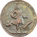 Betts Medals, 1739 Admiral Vernon, Porto Bello, Icons, Betts-236, Adams-ChaoPBvi-16-W, R.5 -- Environmental Details -- NGC Details. VF....