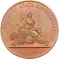 U.S. Mint Medals, Undated Wisconsin State Agricultural Society Award, Julian-AM-82, MS63 Red and Brown NGC....