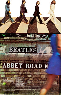 The Beatles Abbey Road In-Store Counter Standee (Apple/EMI, 1969).... (Total: 2 Items)