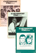 Magazines:Miscellaneous, Cartoonist Profiles Magazine Group of 63 (Cartoonist Profiles, Inc., 1979-2003)....