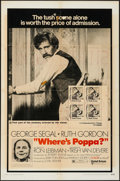 "Movie Posters:Comedy, Where's Poppa? & Other Lot (United Artists, 1970). One Sheets (3) (27"" X 41""). Comedy.. ... (Total: 3 Items)"