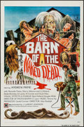 "Movie Posters:Horror, The Barn of the Naked Dead (Twin World Pictures, 1975). One Sheet (27"" X 41""). Horror.. ..."