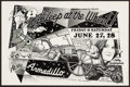 "Movie Posters:Rock and Roll, Asleep at the Wheel Poster at the Armadillo World Headquarters(AWH, 1975). Concert Poster (17.5"" X 11.5""). Rock and Roll.. ..."