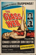 "Movie Posters:Crime, The Glass Web (Universal International, 1953). One Sheet (27"" X 41""). Crime.. ..."