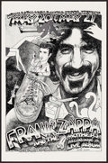 "Movie Posters:Rock and Roll, Frank Zappa and The Mothers at the Armadillo World Headquarters(AWH, 1977). Concert Poster (11.5"" X 17.5""). Rock and Roll...."