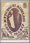 "Movie Posters:Rock and Roll, Jefferson Airplane at the Avalon Ballroom (Family Dog, 1966).Concert Poster No. 17(3) (14"" X 20"") 3rd Printing. Rock and Ro..."