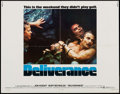 """Movie Posters:Action, Deliverance (Warner Brothers, 1972). Half Sheet (22"""" X 28""""). Action.. ..."""