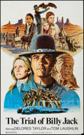 "Movie Posters:Action, The Trial of Billy Jack (Warner Brothers, 1974). One Sheet (24.75""X 39.5"") & Mini Lobby Card Set of 10 (8"" X 10""). Action....(Total: 11 Items)"