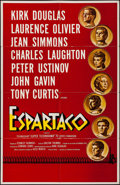 "Movie Posters:Action, Spartacus (Universal International, 1960). Spanish Language OneSheet (27"" X 40""). Action.. ..."