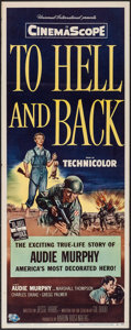 "Movie Posters:War, To Hell and Back (Universal International, 1955). Insert (14"" X36""). War.. ..."