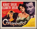 "Movie Posters:Adventure, Conspirator (MGM, 1949). Half Sheet (22"" X 28"") Style B.Adventure.. ..."