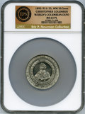 Expositions and Fairs, 1892-93 World's Columbian Exposition, Bust of Columbus, Eglit-55, MS63 Prooflike NGC. ...