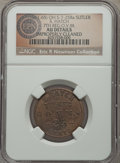 Civil War Tokens, (1861-65) S. Hatch, 7th Regiment, Ohio Volunteer Militia, OH7-25Ba, R.8 -- Improperly Cleaned -- NGC Details. AU. ...