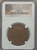 Expositions and Fairs, 1904 Louisiana Purchase, Head of Ceres, Hendershott 30-270, MS63NGC. ... (Total: 7 medals)