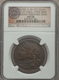 Expositions and Fairs, 1904 Louisiana Purchase, Head of Ceres, Hendershott 30-270 NGC. ...(Total: 4 medals)