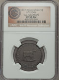 (1837) Belleville, NJ T.D. Seaman, Low-155, HT-204B, R.5, VF30 NGC