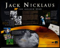 Miscellaneous Collectibles:General, Jack Nicklaus Signed Oversized Photograph. ...