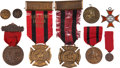 Military & Patriotic:Indian Wars, Collection of Indian Wars Veterans' Badges.... (Total: 11 Items)