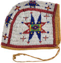 American Indian Art:Beadwork and Quillwork, Sioux Beaded Girl's Cap....