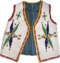 American Indian Art:Beadwork and Quillwork, Sioux Beaded Boy's Vest....