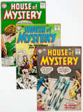 Silver Age (1956-1969):Horror, House of Mystery Group of 7 (DC, 1957-58).... (Total: 7 ComicBooks)