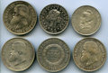 Brazil, Brazil: Lot of Six 2000 Reis Coins,... (Total: 6 coins)