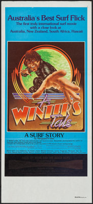 A Winter's Tale: A Surf Story & Others Lot (Associated Screen Arts, 1975). Australian Post-War Daybill (13.25&qu...