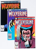 Modern Age (1980-Present):Superhero, Wolverine #1-4 Group (Marvel, 1982) Condition: Average VF/NM....(Total: 4 Comic Books)