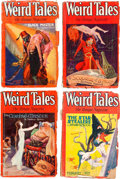 Pulps:Horror, Weird Tales Group of 10 (Popular Fiction, 1929) Condition: AverageFR.... (Total: 10 Items)