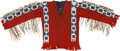 American Indian Art:Beadwork and Quillwork, Plains Beaded Cloth Shirt....
