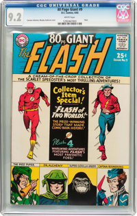 80 Page Giant #9 Flash (DC, 1965) CGC NM- 9.2 White pages