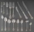 Silver Flatware, American:Reed & Barton, An Eighty-Four Piece Reed & Barton Francis I PatternSilver Flatware Service, Taunton, Massachusetts, designed 1...(Total: 84 Items)