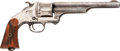 Handguns:Single Action Revolver, Merwin, Hulbert & Co. First Model Frontier Army Single Action Revolver Marked U.P.R.R. Co....