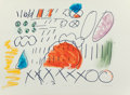 Fine Art - Work on Paper:Drawing, Gerald Jackson (American, b. 1936). Untitled, from thePattern Outline series (four works), 1974. Lithographs withh... (Total: 4 Items)