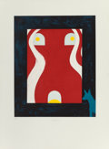 Fine Art - Work on Paper:Print, Billy Al Bengston (American, b. 1934). Untitled, 1988. Etching in colors on wove paper. 20 x 16-1/4 inches (50.8 x 41.1 ...