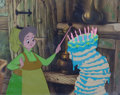 Animation Art:Production Cel, Sleeping Beauty Fauna Production Cel (Walt Disney, 1959)....