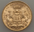 German States:Hamburg, German States: Hamburg. Free City gold 20 Mark 1913-J UNC,...